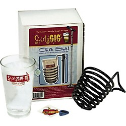 SwirlyGig Mic Stand Drink Holder with Pint Glass Gift Set (SWIRLY2)