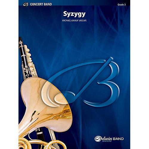 BELWIN Syzygy Concert Band Grade 3 (Medium Easy)-thumbnail