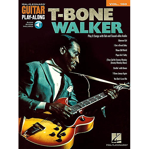 Hal Leonard T-Bone Walker - Guitar Play-Along Vol. 160 Book/CD-thumbnail