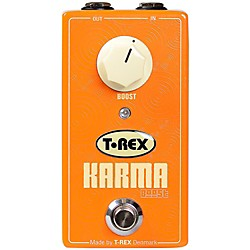 T-Rex Engineering Karma Clean Boost Guitar Effects Pedal (KARMA-BOOST)