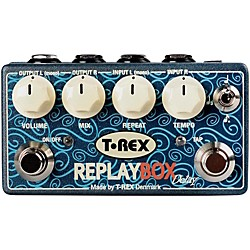T-Rex Engineering Stereo Delay Guitar Effects Pedal (REPLAY-BOX)