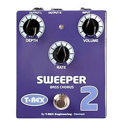 T-Rex Engineering Sweeper 2 Bass Chorus Pedal (SWEEPER-2)