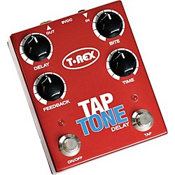 T-Rex Engineering Tap Tone Delay Guitar Effects Pedal (TAP TONE)
