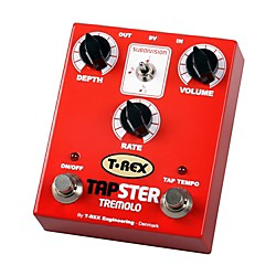 T-Rex Engineering Tapster Tremolo Guitar Effects Pedal (TAPSTER)