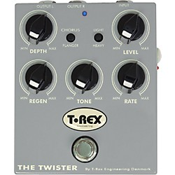 T-Rex Engineering The Twister Chorus/Flanger Guitar Effects Pedal (TRTwister)