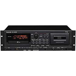 TASCAM CD-A550 CD Player/Cassette Recorder (CDA550)