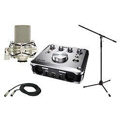 TASCAM US-322 MXL 990 Package 2 (US-322 990 Package)