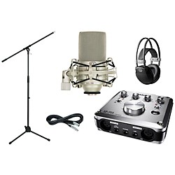 TASCAM US-322 Recording Package (US322RecordingPackage)