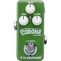 TC Electronic Corona Mini Chorus Guitar Effects Pedal (960807001)