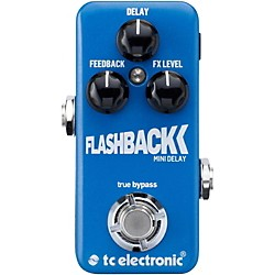 TC Electronic Flashback Mini Delay Guitar Effects Pedal (960806001)