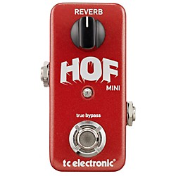 TC Electronic Hall Of Fame Mini Reverb Guitar Effects Pedal (960803001)