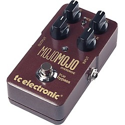 TC Electronic MojoMojo Overdrive Guitar Effects Pedal (960710001)