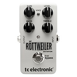 TC Electronic Rottweiler Distortion Guitar Effects Pedal (960730001)