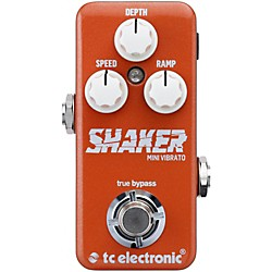 TC Electronic Shaker Mini Vibrato Guitar Effects Pedal (960809001)