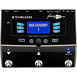 TC Helicon PlayAcoustic Voice Processor for Acoustic Guitarists (996364005)