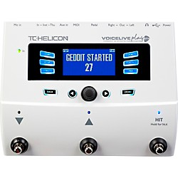 TC Helicon VoiceLive Play GTX Guitar/Vocal Harmony and Effects Pedal (996357005)