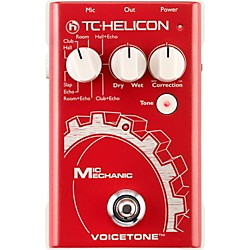 TC Helicon VoiceTone Mic Mechanic Reverb, Delay, & Pitch Correction Pedal (996013005)