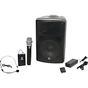 Galaxy Audio TQ8-24SHN Traveler Quest 8 With 2 Receivers, One Headset, And One Handheld Microphone