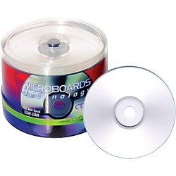 Taiyo Yuden 4.7GB DVD-R, 16X, Silver Inkjet Hub Printable, 100 Disc Spindle (DVD-SPP600SK16)