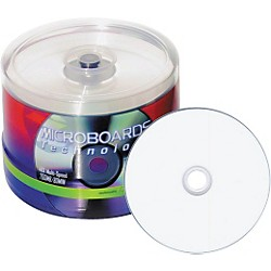 Taiyo Yuden 4.7GB DVD-R, White Inkjet Hub Printable, 100 Disc Spindle (DVD-R47WPP600SK)