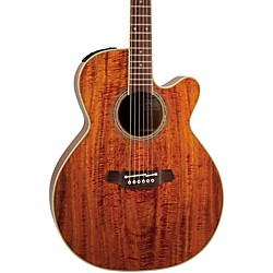 Takamine EF508KC NEX Legacy Series All Koa Acoustic-Electric Guitar (EF508KC)
