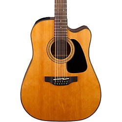 Takamine G Series Dreadnought Solid Top Cutaway 12-String Acoustic/Electric Guitar (GD30CE-12NAT)