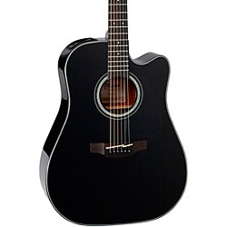 Takamine G Series GD30CE Dreadnought  Cutaway Acoustic-Electric Guitar (GD30CE-BLK)