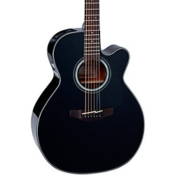 Takamine G Series GN30CE NEX Cutaway Acoustic-Electric Guitar (GN30CE-BLK)