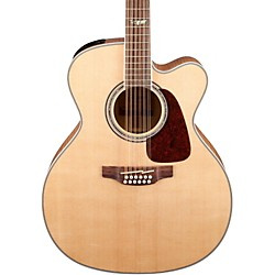 Takamine G Series Jumbo Cutaway 12-String Acoustic-Electric Guitar (GJ72CE-12NAT)