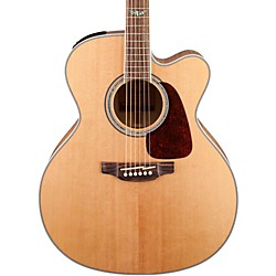 Takamine G Series Jumbo Cutaway Acoustic-Electric Guitar (GJ72CE-NAT)