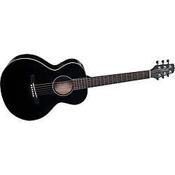 Takamine G Series Mini Acoustic-Electric Gloss Guitar (EGMINI-BK)
