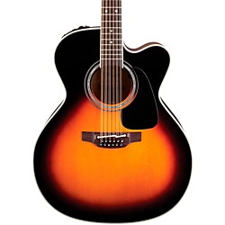 Takamine Pro Series 6 Jumbo Cutaway 12-String Acoustic-Electric Guitar (P6JC-12-BSB_1353)