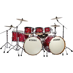 Tama Silverstar 8-Piece Double Bass Drum Shell Pack (VL82RBD2SRM Kit)