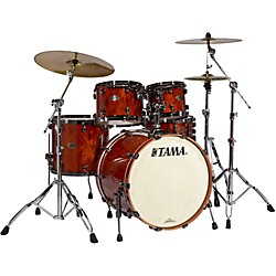 Tama Starclassic Performer B/B Limited Edition 4-Piece Shell Pack with Exotic Outer Ply (PL42BNSQNQB Kit)