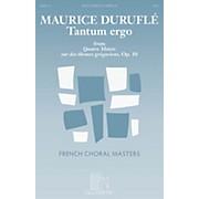 Durand Tantum Ergo SATB a cappella Composed by Maurice Duruflé