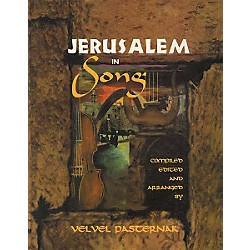 Tara Publications Jerusalem In Song Book with CD (330637)