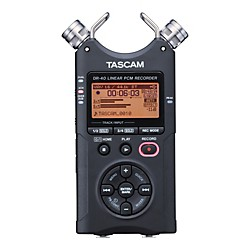 Tascam DR-40E Portable Digital Recorder (DR-40E)