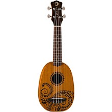 Luna Guitars Tattoo Pineapple Soprano Ukulele