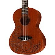 Luna Guitars Tattoo Tenor Ukulele