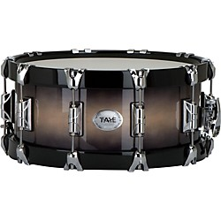 Taye Drums StudioBirch Wood Hoop Snare Drum (SB1406SWBK-NBB)
