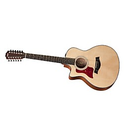 Taylor 2012 356ce-L Sapele/Spruce Grand Symphony 12-String Left-Handed Acoustic-Electric Guitar (356CE-L-2012)