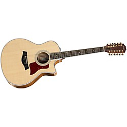 Taylor 2014 Spring Limited 456ce Grand Symphony 12-String Acoustic-Electric Guitar (456ce-SLTD)