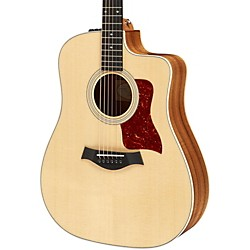 Taylor 210Kce Deluxe Koa Dreadnought Cutaway Acoustic Electric Guitar (210ce-K-DLX)