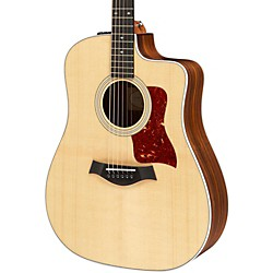 Taylor 210ce Deluxe Dreadnought Cutaway Acoustic Electric Guitar (210ce-DLX)