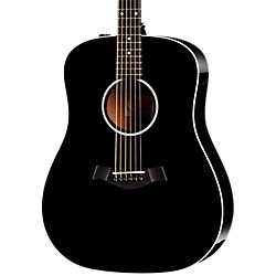 Taylor 210e Dreadnought ES-T Electronics Acoustic-Electric Guitar (210e-BLK)