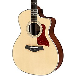 Taylor 214ce Deluxe Grand Auditorium Cutaway Acoustic-Electric Guitar (USED004000 214ce-DLX)
