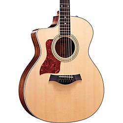 Taylor 214ce-L V1 Rosewood/Spruce Grand Auditorium Left-Handed Acoustic-Electric Guitar (USED004000 214CE-L-2012)