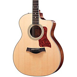 Taylor 214ce Rosewood/Spruce Grand Auditorium Acoustic-Electric Guitar (214CE-2012)