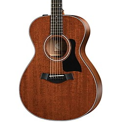 Taylor 300 Series Grand Concert Mahogany Top Sapele Non-Cutaway Acoustic-Electric Guitar (322e)