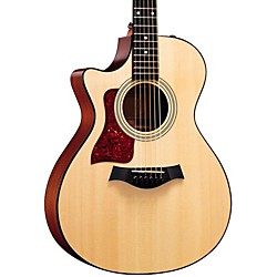 Taylor 312ce-L Sapele/Spruce Grand Concert Left-Handed Acoustic-Electric Guitar (312CE-L-2012)